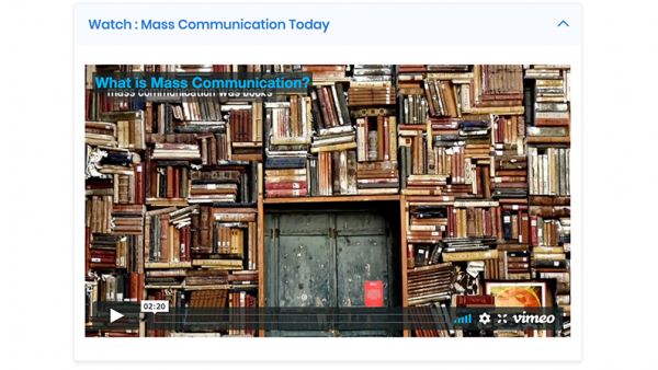 COMM 1103: Introduction to Communication