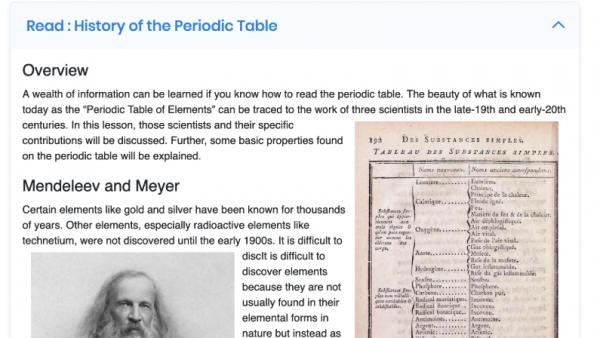 CHEM 2103: Chemistry I