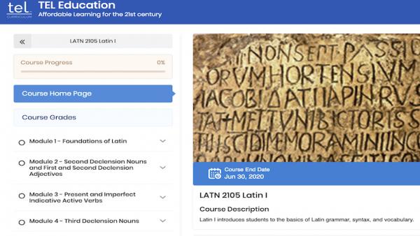 LATN 2105: Latin I